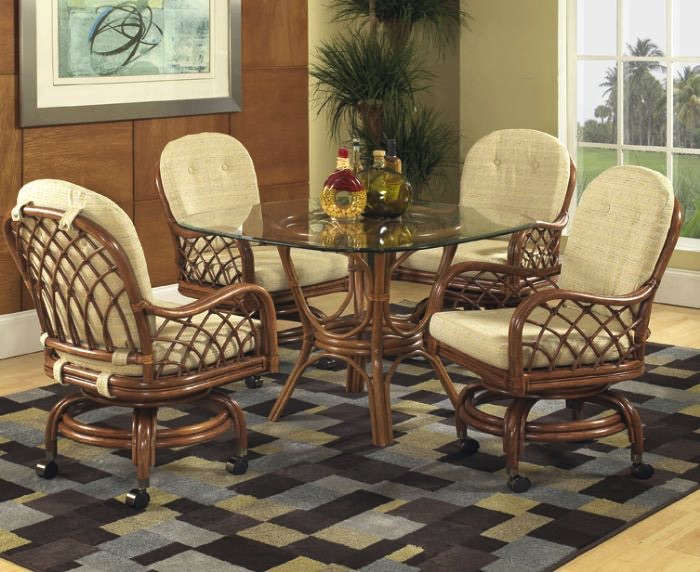 3763CSR Grand Isle Dining jpg. Classic Rattan Furniture