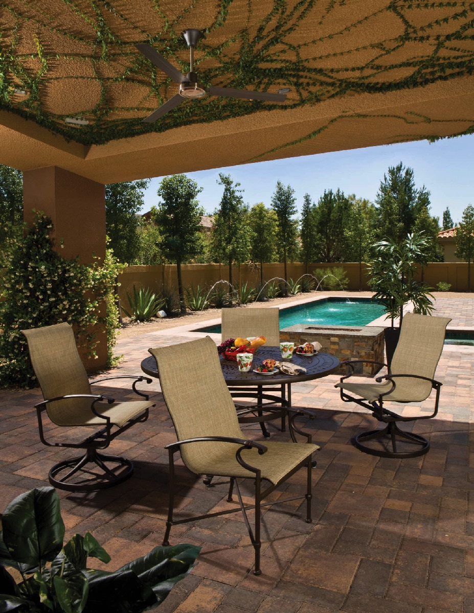 Charleston Sling Pool Patio Outdoor Winston Furniture