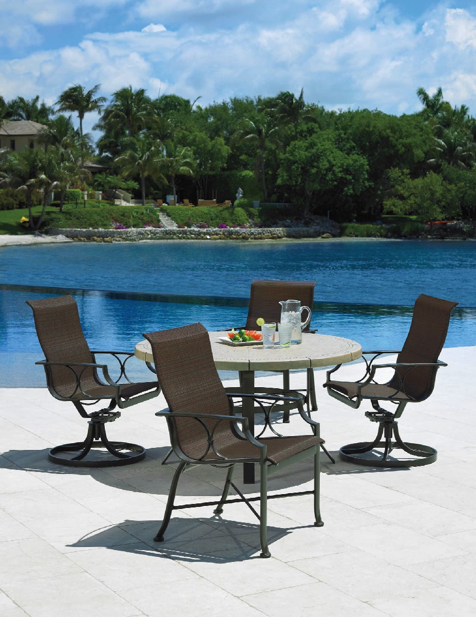 Exeter Sling Pool Patio Winston Furniture