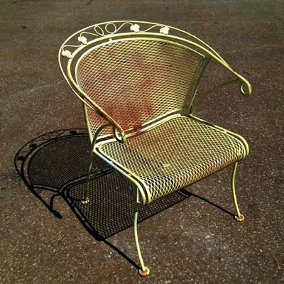Is The Paint On Your Wrought Iron Patio Furniture Chipped Or Wearing Off